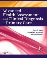 Advanced health assessment and clinical diagnosis in primary care